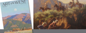 Don Oelze – Art of the West May June 2017