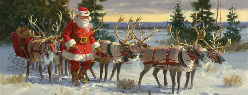 Tom Browning - Santa At Work and Play - Nov. 21st - Dec. 25th
