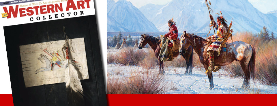 Martin Grelle – Western Art Collector January 2017