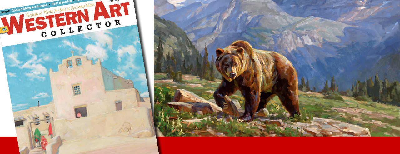 Chad Poppleton – Western Art Collector July 2015