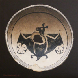 mimbres_burial_bowl_with_kill_hole_and_bat_motif-rock_newcomb-legacy_gallery